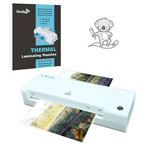 5 In 1 A3 Hot Laminator Machine 90 Laminating Pouch Sheets Seal 11x17 4x6 5x7