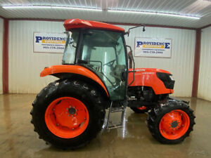 2018 Kubota M6060 Cab Tractor With A c And Heat
