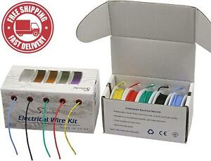 Striveday 28 Awg Flexible Silicone Wire Electric Wire 28 Gauge Coper Hook Up Wir