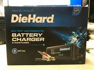 Diehard 6 Volt And 12 Volt Battery Trickle Charger Maintainer 2871219 New