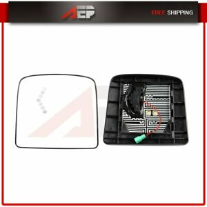 Truck Mirrors L R Small Mirrors Plate Heated For 97 10 International 9200 9400i