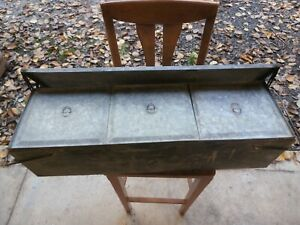 Rare Running Board Mounted Refrigerat Cooling Ice Box Model A Model T Chevrolet