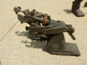 2 Small Vintage Brown And Sharpe Grinding Fixtures Machinist Tooling