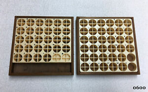 Kingsley Machine 2 empty Wooden Type Trays Hot Foil Stamping Machine