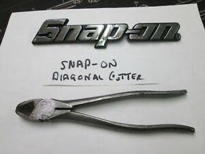 Snap On Vacuum Grip Diagonal Side Wire Cutters Pliers Usa