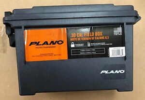 Plano Field Ammo Box Heavy Duty Storage Case for Hunting and Shooting Ammo $7.59