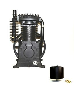Abac belaire cp 10hp 2stage Cast Iron Replacement Air Compressor Pump 1312101037