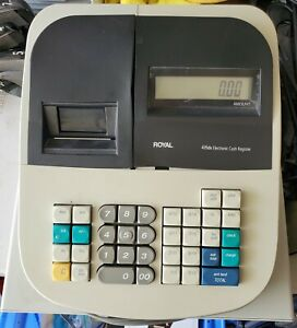 Royal 435dx Electronic Cash Register With No Keys See Pics Works