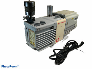 Edwards 12 Rv12 Rotary Vane Dual Stage Mechanical Vacuum Pump W Cable