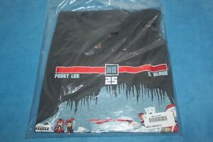 SNOW FIGHTER II T Shirt Frost Lee Vs Santa Claus Size L Brand NEW Sealed $8.99