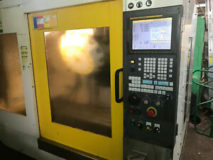 Robodrill T14ibl Cnc Machining Center 4th Axis Ready 14 Tools Long Bed