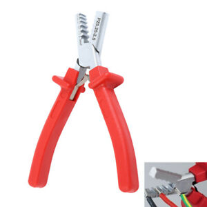 0 25 2 5mm Mini Small Cable End sleeves Ferrules Crimping Crimper Plier