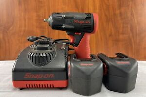 Snap On Ct4410 3 8 Cordless Impact W 2 Batteries And Charger
