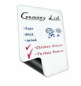 11 X 8 Inch Magnetic Dry Erase Whiteboard Sheet For Fridge a4