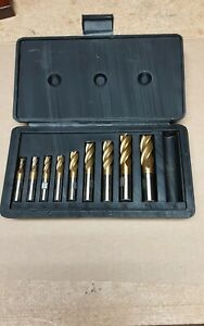Grizzly 9762 4 Flute Tin End Mill Set