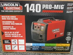Lincoln Electric 140 Pro Mig Flux Corded Wire Feed Welder K2480 1