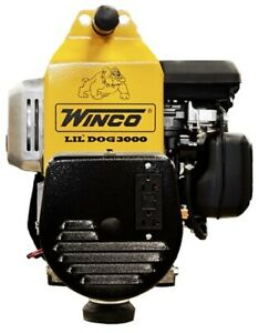 Winco W3000h 2400w Running Portable Generator 120 240v 1ph Epa Carb Approved