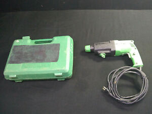 Hitachi Dh22vb Rotary Hammer Drill With Case Corded Sds 4 6a 115vac 500w