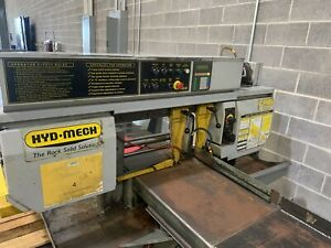 Hyd mech S20a Series Ii Horizontal Automatic Bandsaw With Feeder Table