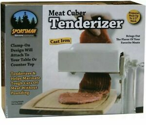 Meat Tenderizer And Cuber Kitchen Tool Sportsman Sm07492 New