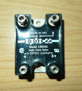 Opto 22 Solid State Relay Model 120d25 3 32 Volts Dc Made In Usa