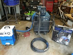 Miller Cp 302 Welder With Fume Extractor And Accessories