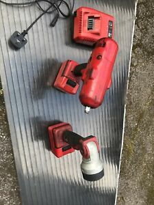 Snap On 1 2 18v Cordless Impact Wrench Gun Monster Lithium And Torch Battery
