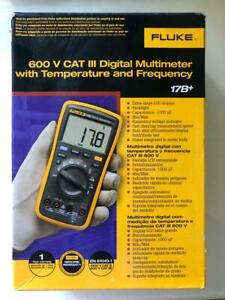 New Fluke 17b Digital Multimeter With Temperature And Frequency