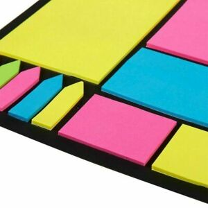 Pack Of 660 Index Tabs Bookmark Stickers Memo Flags Sticky Post Notes Note Pads