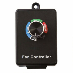For Router Fan Variable Speed Controller Electric Motor Rheostat Ac 120v