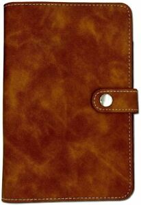 Leather Notebook Binder Refillable6 Round Ring Binder Cover For A6 Filler Paper