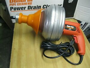 Brandnew General Pipe Super vee Power Drain Cleaner With Cable made In Usa sewer