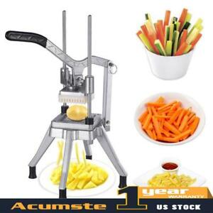 Blades Stainless Steel French Fry Cutter Potato Vegetable Slicer Chopper 3 8
