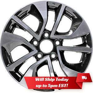 New 16 Machined And Black Alloy Wheel Rim For 2013 2014 2015 Honda Civic 64054