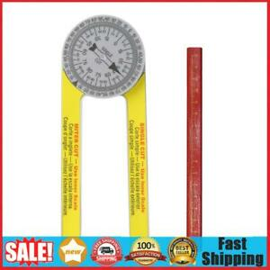 Digital Protractor Inclinometer Miter Saw Protractor Abs Angle Finder Meter