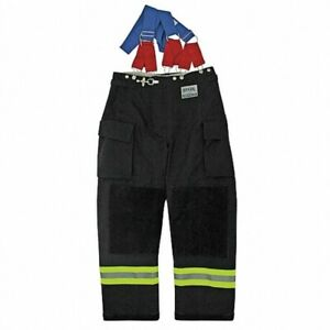 Morning Pride Rng 240d Turnout Pants Size 2xl Inseam 30 Dyna Fit Suspenders