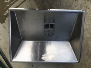 Hollymatic Patty Machine Stainless Steel Feed Pan For Model 54
