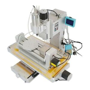 Us 110v 5 Axis Wood Carving Ball Screw Cnc Router 3040 2 2kw Milling Machine