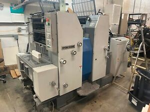 Ryobi 522he 2 c Offset Printing Press All Reasonable Offers Will Be Considered