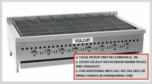 Vulcan Charbroiler Vccb47 New Open Box Local Pickup Only