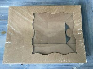 New 15 pack 13 x10 x3 Brown Bakery Boxes W pvc Window For Cakes Baked Goods