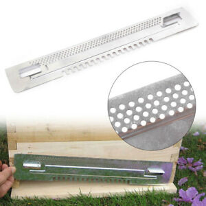 Bee Hive Sliding Mouse Guard Travel Gate Door Entrance Beekeeping Tool Equipment