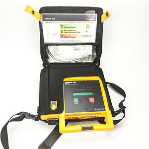 Physio control Lifepak 500 Biphasic External With Case And Pads