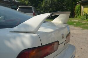 Rear Flap Lip Spoiler Abs For Integra Dc2 Db8 Acura 94 01 Type R Wing Mugen
