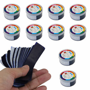 Dental Articulating Paper Thin Blue Double Sided Teeth Care Strips 320 Sheets