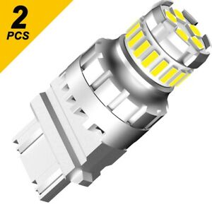 3157 4157 Led Back Up Reverse Lights Bulbs White For Chevy Silverado 1500 99 13