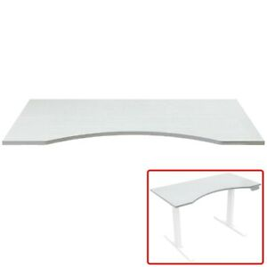 5 X 2 46 Table Top For Sit Stand Desk Height Adjustable Home Office White