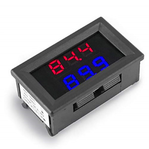Dual Digital Fahrenheit Led Display Thermometer K type Thermocouple High Tester