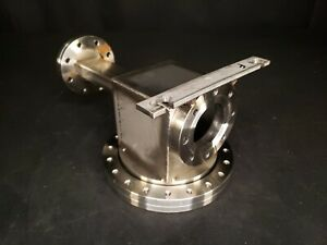 Mdc Varian 8 Conflat Multi port High Vacuum Chamber Stainless Steel Uhv Cf F
