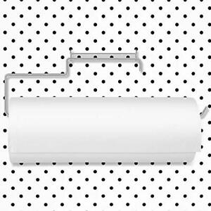 Pegboard Paper Towel Holder Stainless Steel Pegboard Organization Hooks For W